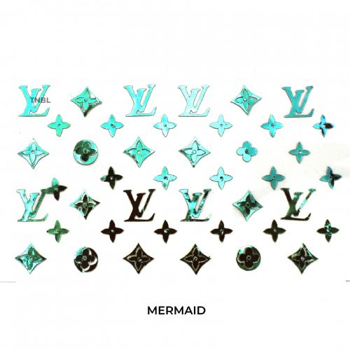 LV Nail Art Sticker - Available in 8 colours